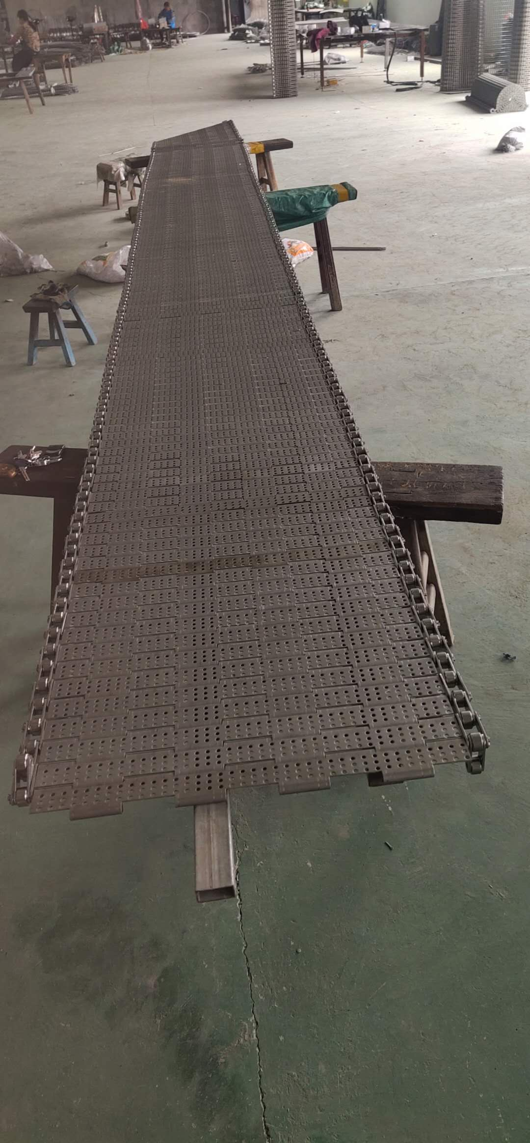 链条型链板网