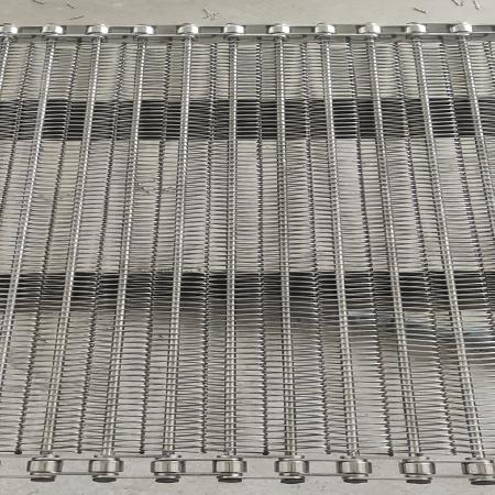 绕丝链条式传杆输送网带